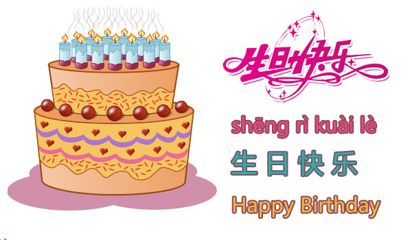 How to say happy birthday in chinese happy birthday in chinese m4hsunfo
