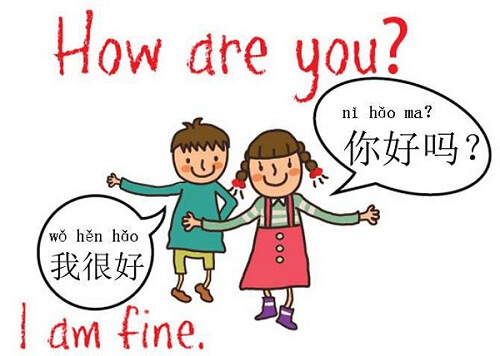 How are you in Chinese