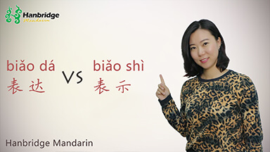 What is the difference between 表达 (biǎo dá) and 表示 (biǎo shì)?
