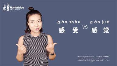 """How to Use """"感受(gǎn shòu)"""" VS """"感觉(gǎn jué)"""""""