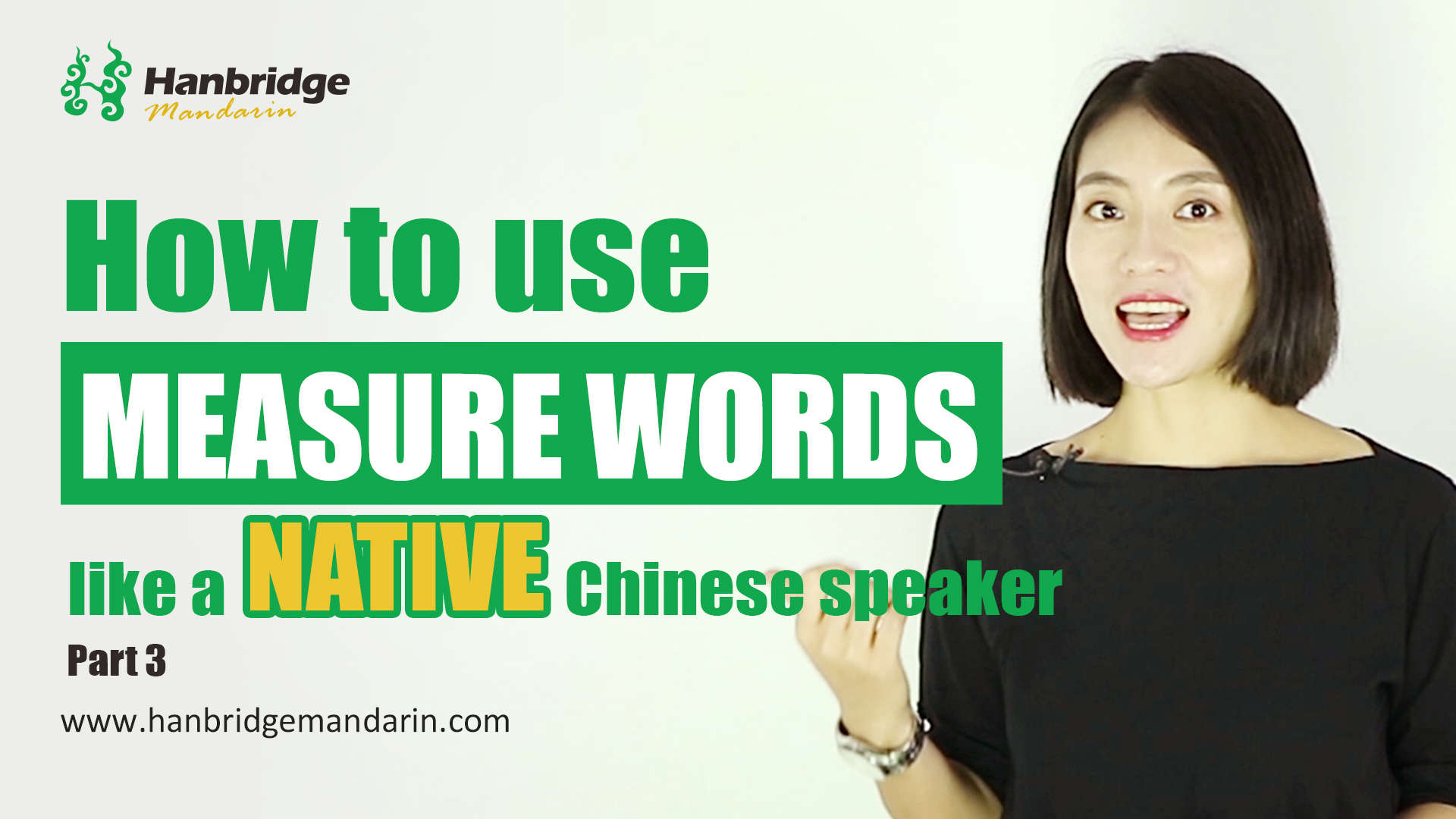 Use Measure Words Like A Native Speaker-Part III